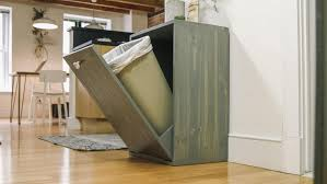 Under Cabinet Trash Can Pull Out by Kitchen Black Trash Can Pull Out Waste Bin Kitchen Cart With