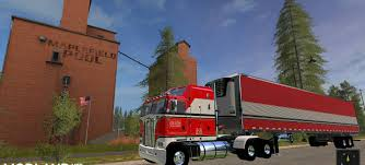 100 Bj And The Bear Truck BJ And The K100 Mod For Farming Simulator 2017 Kennworth