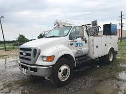 2008 Ford F750 Utility Truck For Sale (Stock #1603) - I10 Equipment
