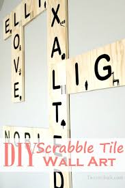 diy scrabble tile wall art diy would love to do all of these
