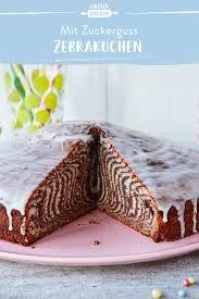 zebrakuchen einfach selbstgemacht
