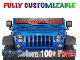 100 Custom Window Decals For Trucks Windshield Words And Numbers Personalize