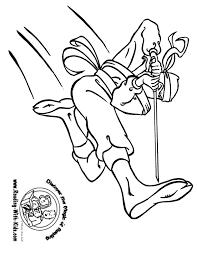 Ninja Coloring Page Throughout
