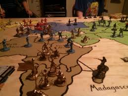 Family Creates An Awesome Risk Table For Their War Room
