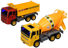 100 Toy Construction Trucks Heavy Duty Friction Powered Set W 2