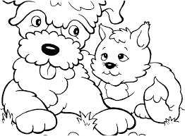Kitten Coloring Pages For Kids Free Printable