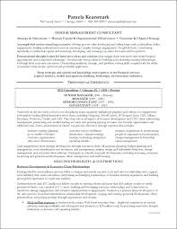 Senior Management Resume Templates Executive Samples Consulting Example Page 1 Sales