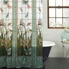 Car Window Curtains Walmart by Mainstays Stained Glass Meadow Peva Shower Curtain Walmart Com