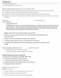 Resume For Hostess With No Experience Sample Restaurant Examples Stunning Objective Also Professional Fresh Including