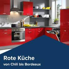 19 rote küche chili bis bordeaux ideen rote küche