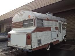 1970 Ford Econoline Travel Queen Motorhome Camper Classic Vintage Trailer