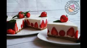 erdbeertorte i no bake i ohne backen i kühlschranktorte i strawberry cake i erdbeerkuchen