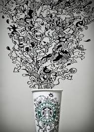 Starbucks Clipart Cup Drawing Tumblr