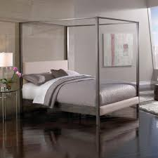 Amazon California King Headboard by Amazon Com Avalon Canopy Platform Bed With Platinum Upholstered