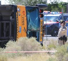 Clark County School Bus Crashes On Pace To Threaten Record | Las ...