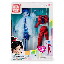 Disney Ralph Breaks The Internet Yesss Fashion Doll New W Box I