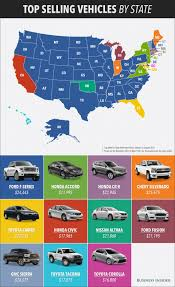 MAP: The Best-Selling Car In Every State | Business Insider Isuzu Takes Best Selling Title For Both Light And Medium Duty Trucks 2016 Ford F150 Limited Review Gallery Top Speed Used Discover How The Major Brands Measure Up Part Ii This 1948 Chevy Is A Pristine Example Of Americas Bestselling Whats New On Piuptruckscom 9717 News Carscom 9 Bestselling Pickup In America Year End Gcbc Best Celebrity Ice Cream Food Truck Chart Of The Day Truck Portion Truth About Cars History Fseries Business Insider Foton Ph Boosts Lineup With Allnew Gratour Midi China 8m3 Cimc Concrete Mixing Pump Vehicles Far You Can Drive Gas Tank Warning Light