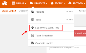 Logging Time To Projects And Tasks