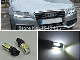2x xenon white p13w led bulbs daytime running lights drl for 2008