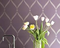 Wall Paint Stencils Design Simple Stenciling And Painting Ideas Stencil