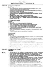 Makeup Artist Resume Samples   Velvet Jobs - Makeup Resumes Examples ... Resume Sample For Makeup Artist New Temp Concept Samples Velvet Jobs The 2019 Guide To Art With Examples And Complete 20 Web Project Manager Collection 97 Production Design Graphics Cover Letter Valid Graphic Templates Visualcv Digital Freelance Tjfsjournalorg Example Within
