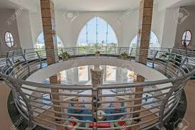 100 Mezzanine Design Abstract View Of Hotel Lobby Showing Interior Design With Circular