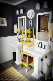 Yellow Gray And Teal Bathroom by Bathrooms 24 Design Yellow And Gray Bathroom Purple And Grey