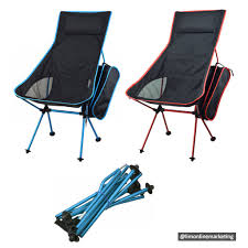 Foldable Camping Chair For Outdoor Travel Hiking Fishing