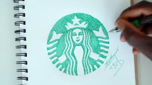 SKETCH SUNDAY 32 How To Draw The Starbucks Logo
