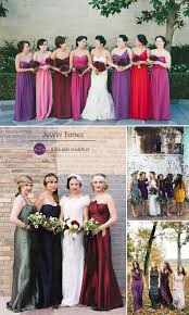 Jewel Toned Bridesmaid Dresses And Fall Wedding Color Ideas 2015