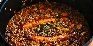 cuisine lentille saucisse lentille cookeo facile et pas cher recette sur cuisine