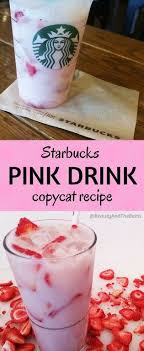 Starbucks Pink Drink Copycat Recipe PinkDrink O Beauty And The Beets