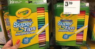 Crayola Bathtub Crayons Target by Extra 20 Off Supplies At Target Pay As Low As 0 04