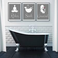 lustige bad zeichen leinwand drucke und poster entspannen