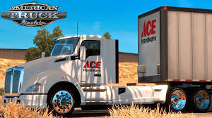 American Truck Simulator: Ace Hardware - Los Angeles To Bakersfield ... Dsi Automotive Truck Hdware Gatorback Toyota Custom Fit Mud Flaps Milwaukee Dhandle Hand 800 Lb30019 Ace Skateboard Deck Bearing Screws Nuts Bag 1 Inch Parts Gray Ram 2018 With Black Wrap Text New Manitou Tmt55 Truck Mtd Forklift With Fliner M2106 T Ford Oval With 19x24 Dually Blank Plate Dodge Rams Show Trucks Earn Hdware At Walcott Truckers Jamboree Truckhdware Twitter Chevy Sharptruckcom Returns To Main Street In Placerville