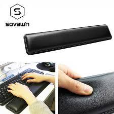 sovawin en cuir clavier repose poignets pad gamer pc handguard