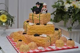 Hay Farm Wedding Cake