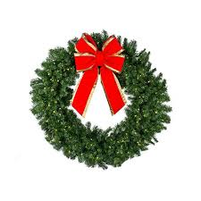 Pre Lit Christmas Tree Replacement Bulbs by Christmas Wreaths Deluxe Oregon Fir Mixed Pine