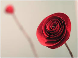 How To Make Paper Rose Flowers
