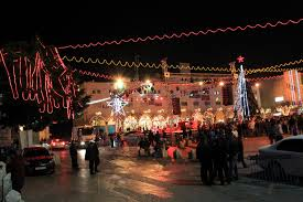 Bethlehem Lights Christmas Trees by Mission Ireland December 2012