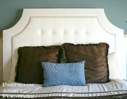White Velvet King Headboard by Cheap White Tufted Headboard Full Canada Coccinelleshow Com