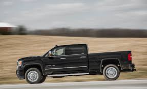 2017 GMC Sierra 2500HD / 3500HD First Drive | Review | Car And Driver Gmc Sierra Pickup Truck Resigned With Trickedout Tailgate Carbon Installing 19992006 Gm 1500 Pickup 15 To 25inch Suspension Lift New Denali Luxury Vehicles Trucks And Suvs Midnight Custom Truck Build Saskatoon Commercial Cars From Wheaton Buick Cadillac Ltd Cars Trucks For Sale In Ottawa On Myers Chevrolet Dave Smith 2500hd All Terrain X Chevrolets Big Bet The Larger Lighter 2019 Silverado Gets Blackout Treatment Elevation Edition Autoweek Chevy Dealer Keeping The Classic Look Alive With This 2015 3500 Crewcad
