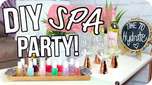 DIY Spa Party On A Budget