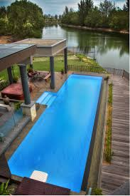 100 Infinity Swimming Feature Pool 15m X 4m X 12m Desjoyaux Pool Outdoor