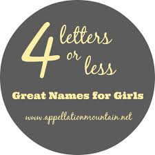 A To Z Short Names For Girls Appellation Mountain