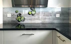 credence verre cuisine crédence cuisine une cuisine unique avec nos verre 100 sur mesure