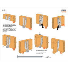 Decorative Angled Joist Hangers by Simpson Joist Hangers For Tji Hanger Inspirations Decoration