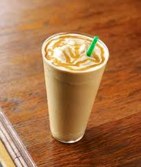 Coffee Blended With Caramel Sauce Milk And Ice Fewer Calories