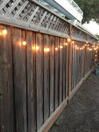 DIY Backyard Lighting. Hang Lights On Your Fence!   DIY ... Privacy Fence Styles Design And Ideas Of House Diy Backyard Fence Peiranos Fences Durable Build A Wall With Panels Hgtv 60 Cheap Diy Privacy How To Install Picket For Dogs Building A Photo On Breathtaking Fencing Cost Wood Secure Outdoor Pictures Designs Trends Decorating Condointeriordesigncom Appealing Wooden Pergola Installed Above Classic Nuanced 100 Decor Images About Garden Gates
