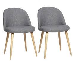 esszimmerstühle modern grau holzbeinen 2 tlg hübsch interior